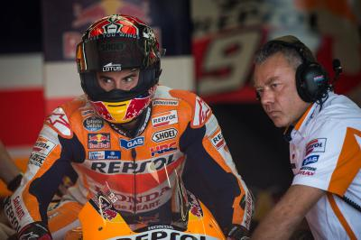 "Marquez: ""The Championship is getting further away"""