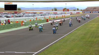 Canet domina la prueba de Moto3 en el FIM CEV Repsol