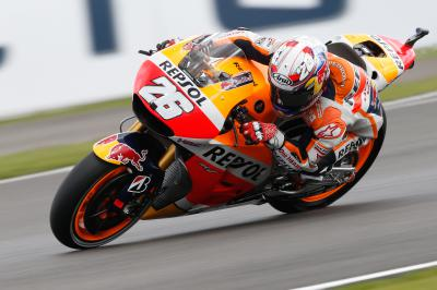 """Pedrosa: """"Let's hope the sun comes out"""""""