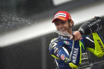 Rossi closes in on new record