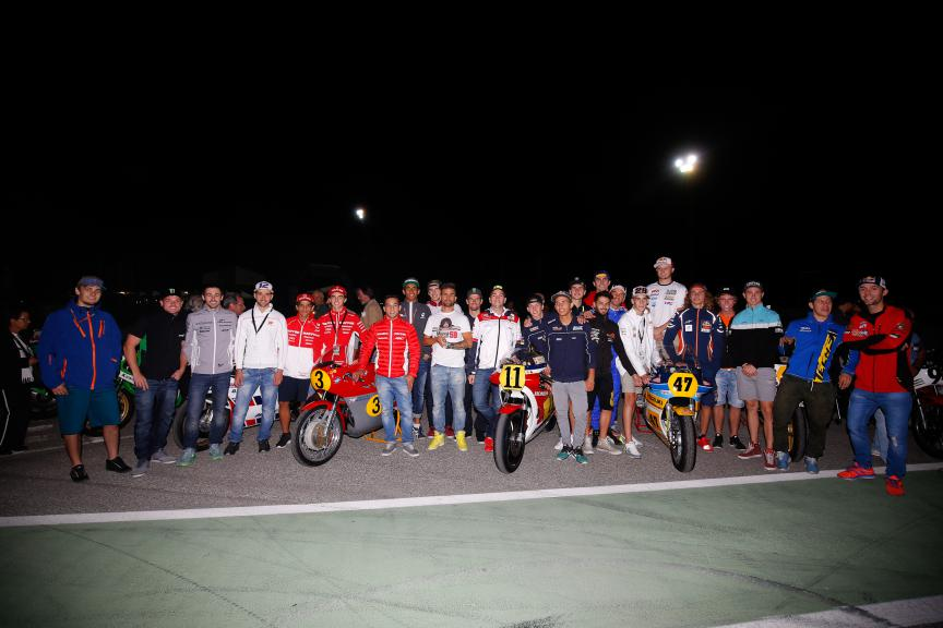 MotoGP riders battle in the #Spurtleda58 to honour Marco Simoncelli