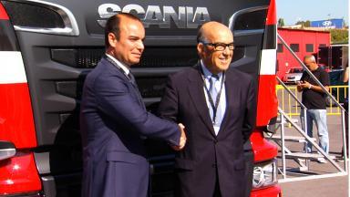 Scania presenta una edición limitada MotoGP™