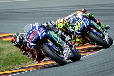 El duelo por el Mundial entre Lorenzo y Rossi llega a Misano