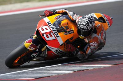 On board: Marc Marquez at Misano Circuit