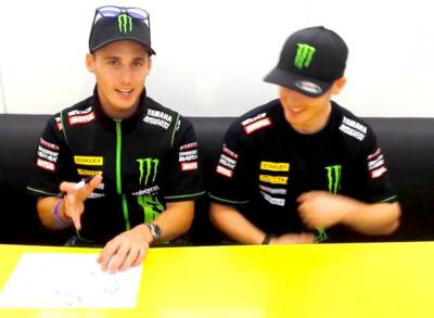 Smith & Espargaro talk through Misano