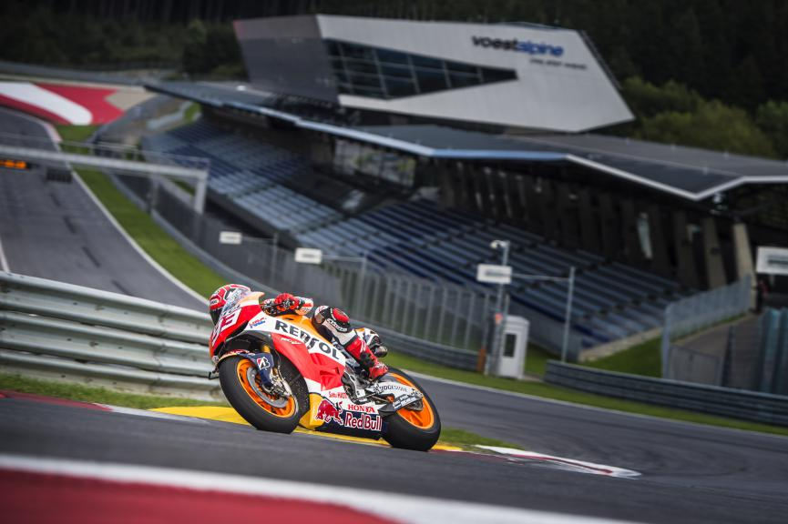 Marc Marquez, Repsol Honda Team, Red Bull Ring © Philip Platzer / Red Bull Content Pool