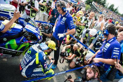 Rossi: «Tendré mucha presión»