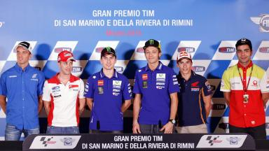 Press conference kicks off #SanMarinoGP
