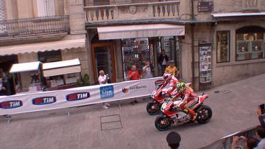 Las Ducati ruedan por San Marino