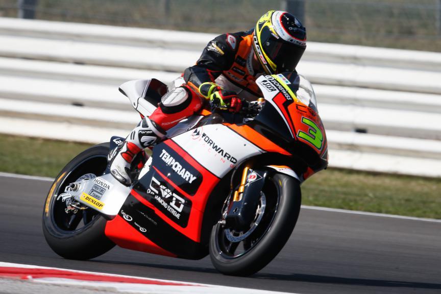 Simone Corsi, San Marino GP FP1