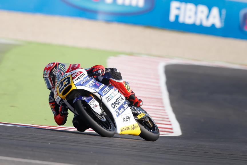 Niccolò Antonelli, Ongetta-rivacold, San Marino GP FP2