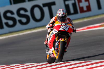 "Pedrosa: ""It was a lot dirtier"""