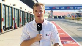 Dylan Gray fala sobre as aletas de Lorenzo, o braço oscilante de Márquez e as opções de pneus em Misano.
