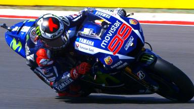 Record-breaking Lorenzo heads Friday's practice