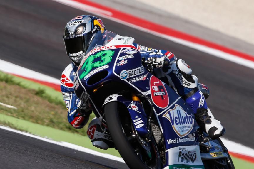 Enea Bastianini, Gresini Racing Team Moto3, San Marino GP FP2