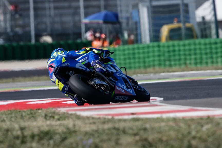 Aleix Espargaro, Team Suzuki Ecstar, San Marino GP FP2