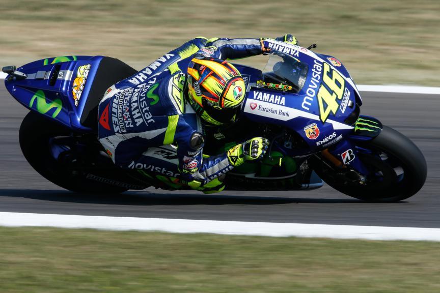 Valentino Rossi, Movistar Yamaha MotoGP, San Marino GP FP2