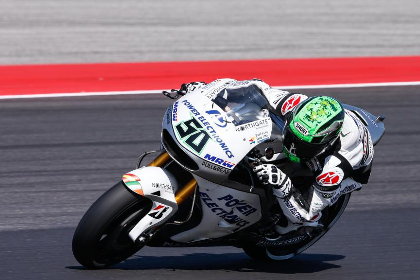 Eugene Laverty, Aspar Team MotoGP, San Marino GP FP2