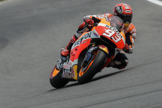 Marquez sets early pace in FP1