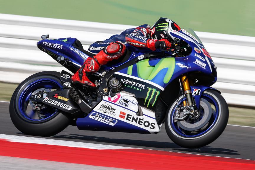 Jorge Lorenzo, Movistar Yamaha MotoGP, San Marino GP FP1