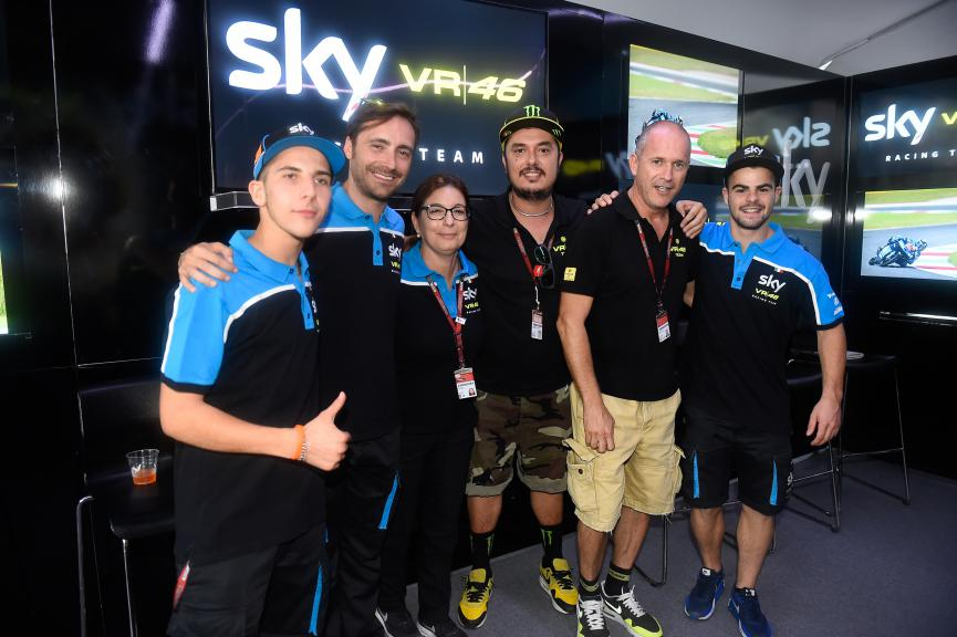 SKY Racing Team VR46 2016 Presentation