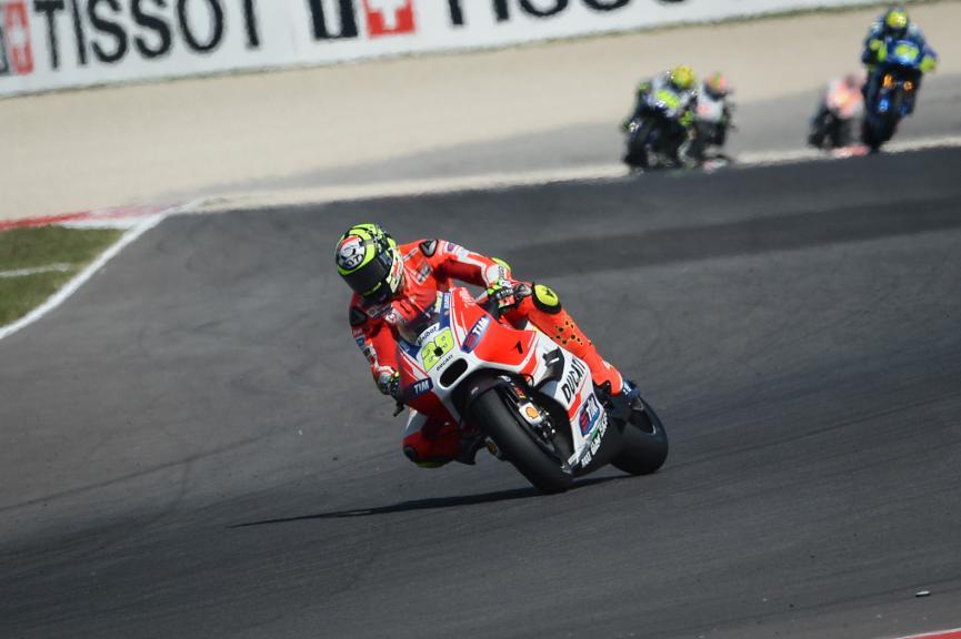Andrea Iannone, Ducati Team, San Marino GP FP2