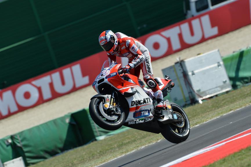Andrea Dovizioso, Ducati Team, San Marino GP FP2