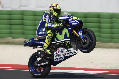 "Rossi: ""I still don't feel 100%"""