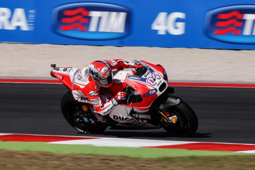 Andrea Dovizioso, Ducati Team, San Marino GP Q2