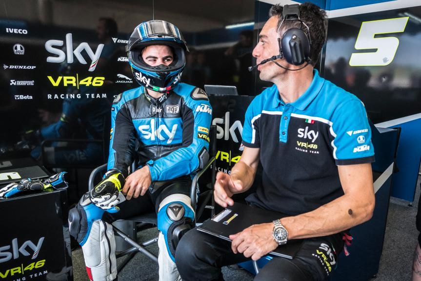 Romano Fenati, SKY Racing Team VR46, San Marino GP QP