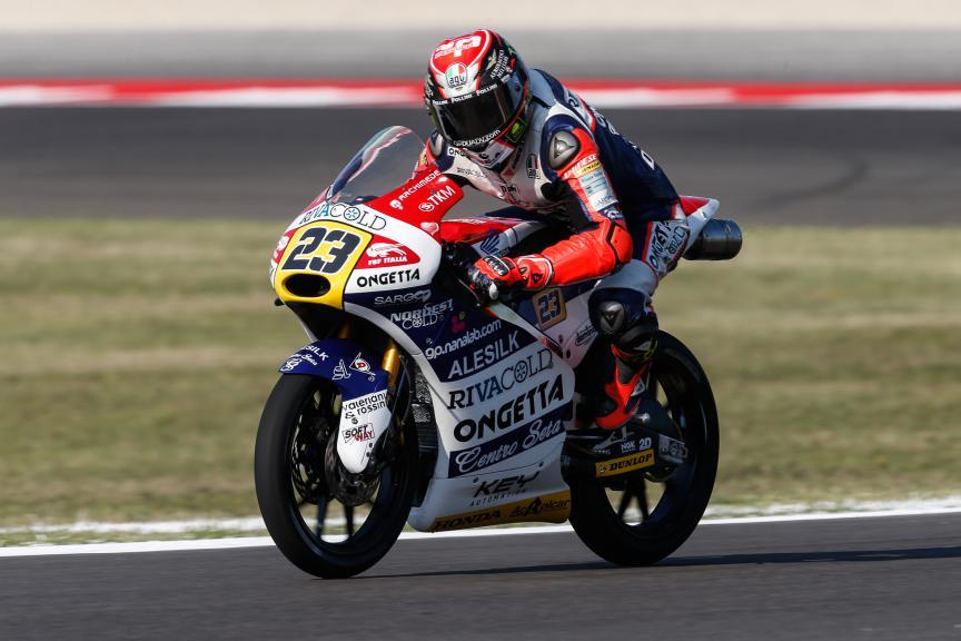 Niccolò Antonelli, Ongetta-rivacold, San Marino GP QP