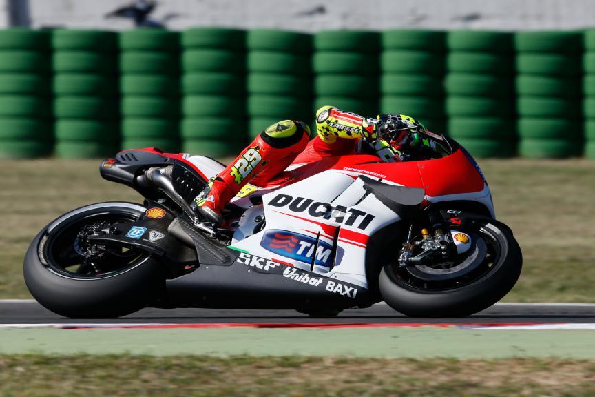 Andrea Iannone, Ducati Team, San Marino GP Q2