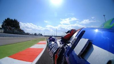 Lorenzo's record-busting pole lap