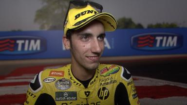 Rins: 'Qualifying was perfect'