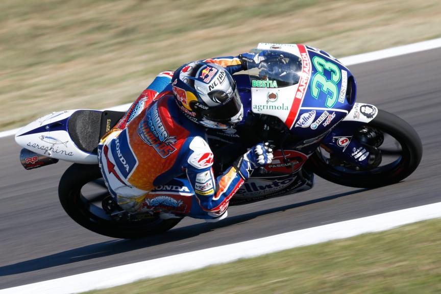 Enea Bastianini, Gresini Racing Team Moto3, San Marino GP QP