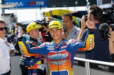 "Bastianini: ""Pole in our home Grand Prix is fantastic'"