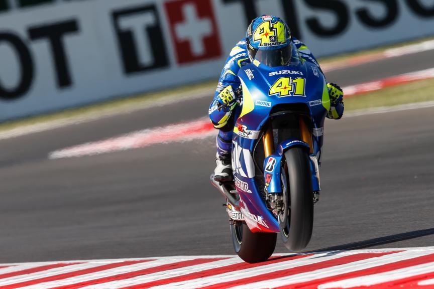 Aleix Espargaro, Team Suzuki Ecstar, San Marino GP