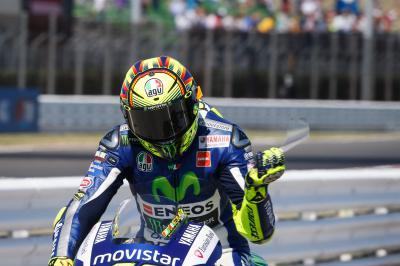 Rossi: «La primera vuelta será muy importante»