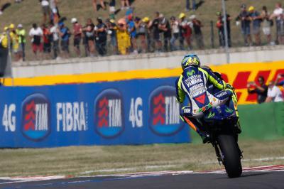 Rossi : « Partir en première ligne est très important »