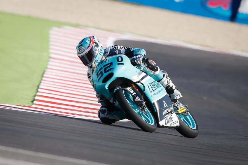 Danny Kent, Leopard Racing, British GP FP3