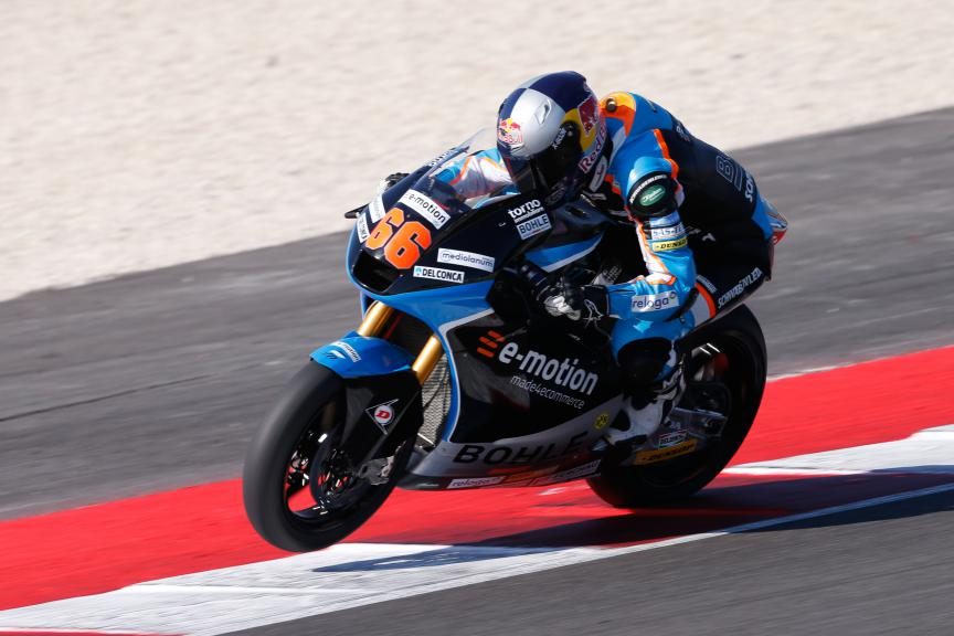 Florian Alt, E-motion Iodaracing Team, San Marino GP QP