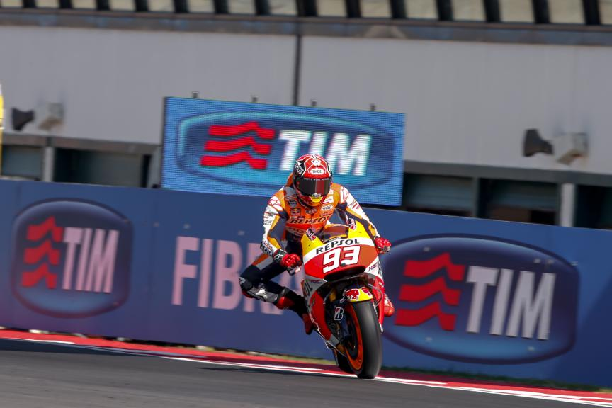 Marc Marquez, Repsol Honda Team, San Marino GP Q2