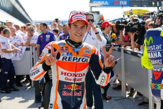 "Marquez: ""I'm not happy"""