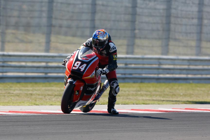 Jonas Folger, AGR Team, San Marino GP QP