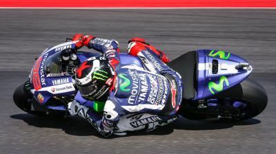 Lorenzo, primero de nuevo en la FP4 de MotoGP™