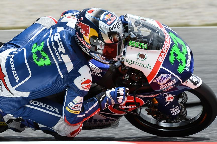 Enea Bastianini, Gresini Racing Team Moto3, San MarinoGP QP