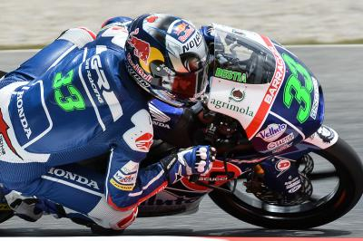 Bastianini claims third Moto3™ pole of 2015