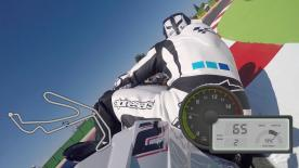 Experience a lap of Misano with motogp.com's Dylan Gray.