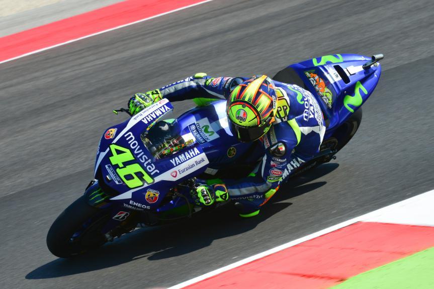 Valentino Rossi, Movistar Yamaha MotoGP, San Marino GP Q2