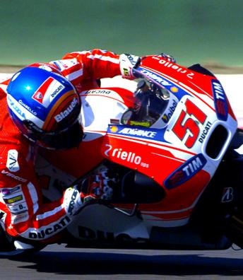 Pirro: O mais rápido da Ducati em Misano!